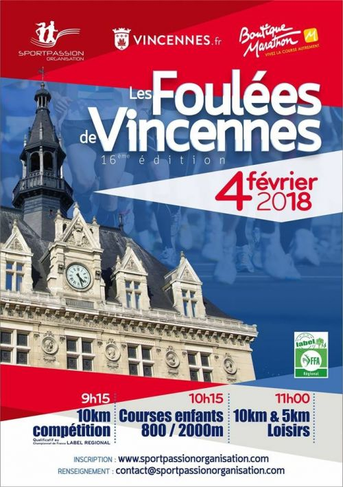 course a pied 94 calendrier