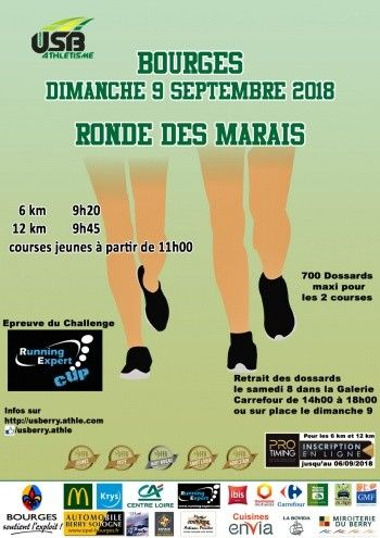 course a pied 9 septembre 2018