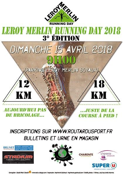 Leroy merlin running day soyaux 16 le 15 avr 2018 - Leroy merlin angouleme ...