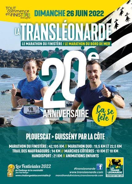 Calendrier Course à Pied Bretagne 2021 La Transléonarde 2021, Plouescat (29)   Course à pied
