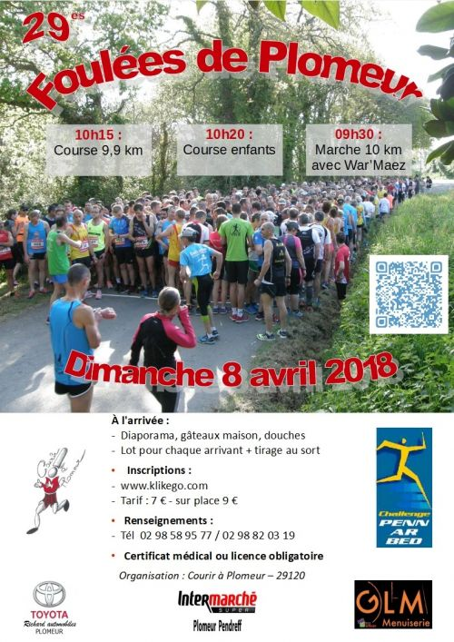 course a pied 8 avril 2018