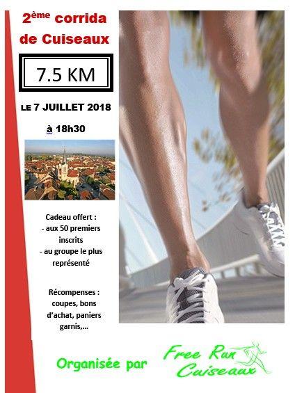 course a pied 7 juillet 2018