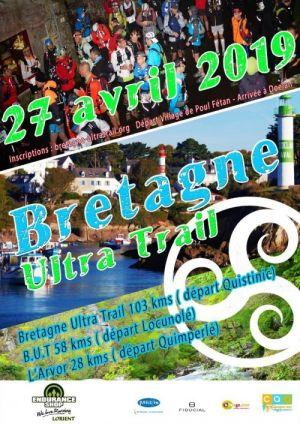 Calendrier Trail Finistere.Bretagne Ultra Trail Du 27 Au 28 Avr 2019 Clohars
